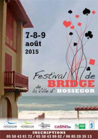 Affiche du festival de bridge 2015